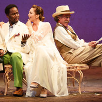 "Roundabout's revival of ""The Cherry Orchard"" at The American Airlines Theatre"