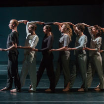 "The company of Shen Wei Dance Arts' ""Neither"" at BAM"