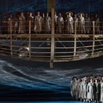 """The company of """"Guillaume Tell"""" at The Metropolitan Opera"""
