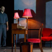 "Corey Stoll and Rachel Weisz in ""Plenty"" at the Public Theater"