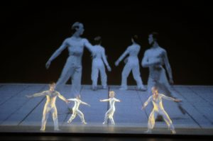 """Lucinda Childs Dance Company performs """"Dance"""" at the Joyce Theater"""
