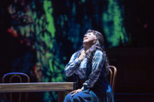 """Kristin Sampson in New York City Opera's production of Puccini's """"La Fanciulla del West"""""""