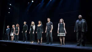 "The cast of ""Prince of Broadway"""