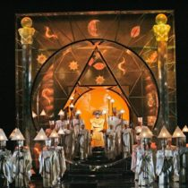 "Julie Taymor's production of ""The Magic Flute"" at the Metropolitan Opera"