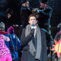"Andy Karl leads the company of ""Groundhog Day"" at the August Wilson Theatre"