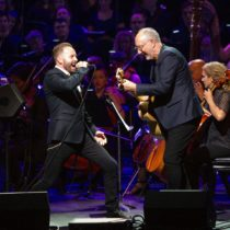 "Alfie Boe and Pete Townsend rock in ""Classic Quadrophenia"""