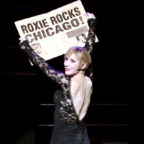 """Charlotte d'Amboise in """"Chicago"""" at the Ambassador Theatre."""