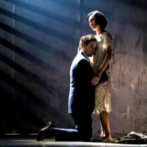 "Clive Owen and Jin Ha in Julie Taymor's revival of David Henry Hwang's ""M. Butterfly"" at the Cort Theatre."