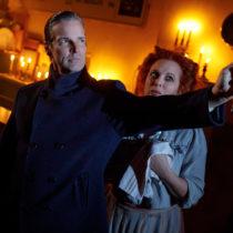 "Hugh Panaro and Carolee Carmello in ""Sweeney Todd"" at the Barrow Street Theater."