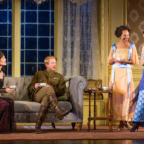 """The company of Roundabout Theatre Company's """"Time and the Conways"""" at the American Airlines Theatre."""
