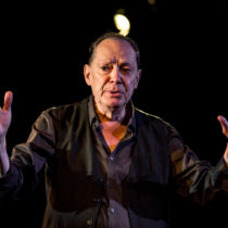 """Edgar Oliver stars in his """"New York Trilogy"""" at the Axis Theatre."""