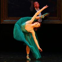 """Sara Mearns in Matthew Bourne's """"The Red Shoes"""" at New York City Center."""