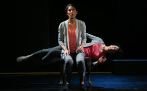 "Naomi Iizuka's stage adaptation of Haruki Murakami's ""Sleep"" at BAM Fishman Space."