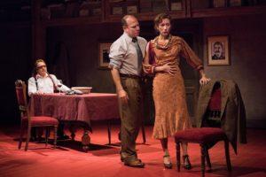 "The cast of Rajiv Joseph's ""Describe the Night"" at Atlantic Theater Company."
