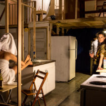 """Geoff Sobelle's """"Home"""" at BAM Harvey Theater."""