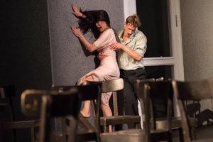 "Tanztheater Wuppertal Pina Bausch performs ""Café Müller"" at the Brooklyn Academy of Music."