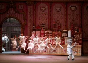 "Alexei Ratmansky's ""Whipped Cream"" for American Ballet Theatre at the Metropolitan Opera House."