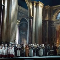 "Sir David McVicar's new production of Puccini's ""Tosca"" for the Metropolitan Opera."
