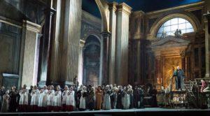 "Sir David McVicar's new production of Puccini's ""Tosca"" for the Metropolitan Opera."