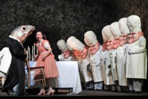 "A scene from Humperdinck's ""Hansel and Gretel"" at the Metropolitan Opera."