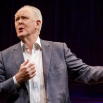 "John Lithgow in ""John Lithgow: Stories by Heart"" at the American Airlines Theatre."