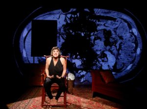 "Eve Ensler in MTC's production of ""In the Body of the World"" at New York City Center."