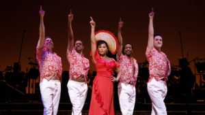 """Vanessa Williams in Encores! """"Hey, Look Me Over!"""" at New York City Center."""